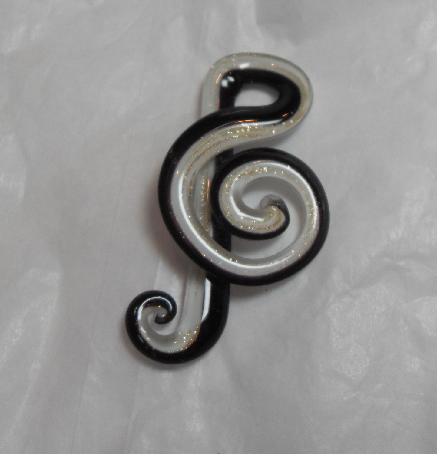 Musical note pendant black and white art glass pendant jewelry musical note pendant black and white art glass pendant jewelry supplies necklace pendant aloadofball