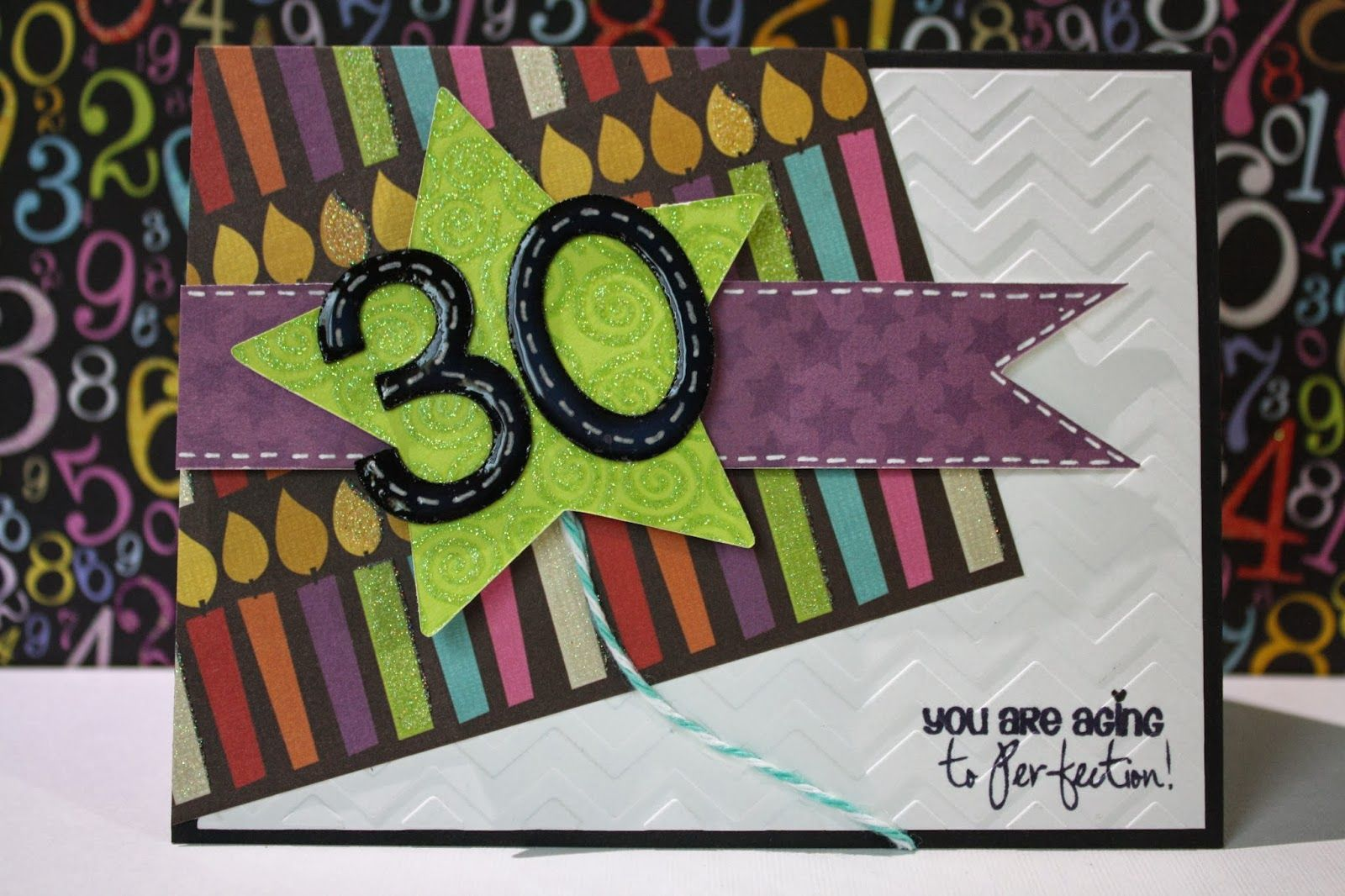 Happy 30th Birthday To My Sister Cards Number Pinterest Happy