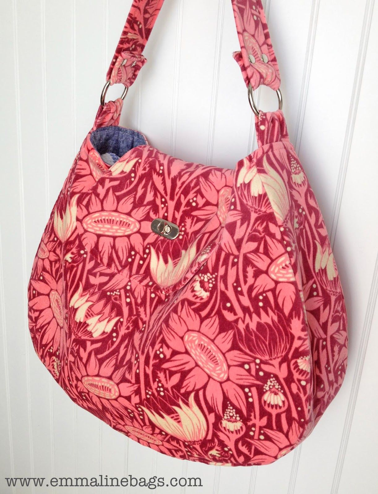 My version of the Uptown Hobo bag by Rose from www.roseisaroseis ...
