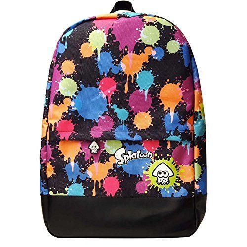 Splatoon  Backpack  Splatoon  Ink  Splatter  Logo  Official  Nintendo 21351e1689d9b