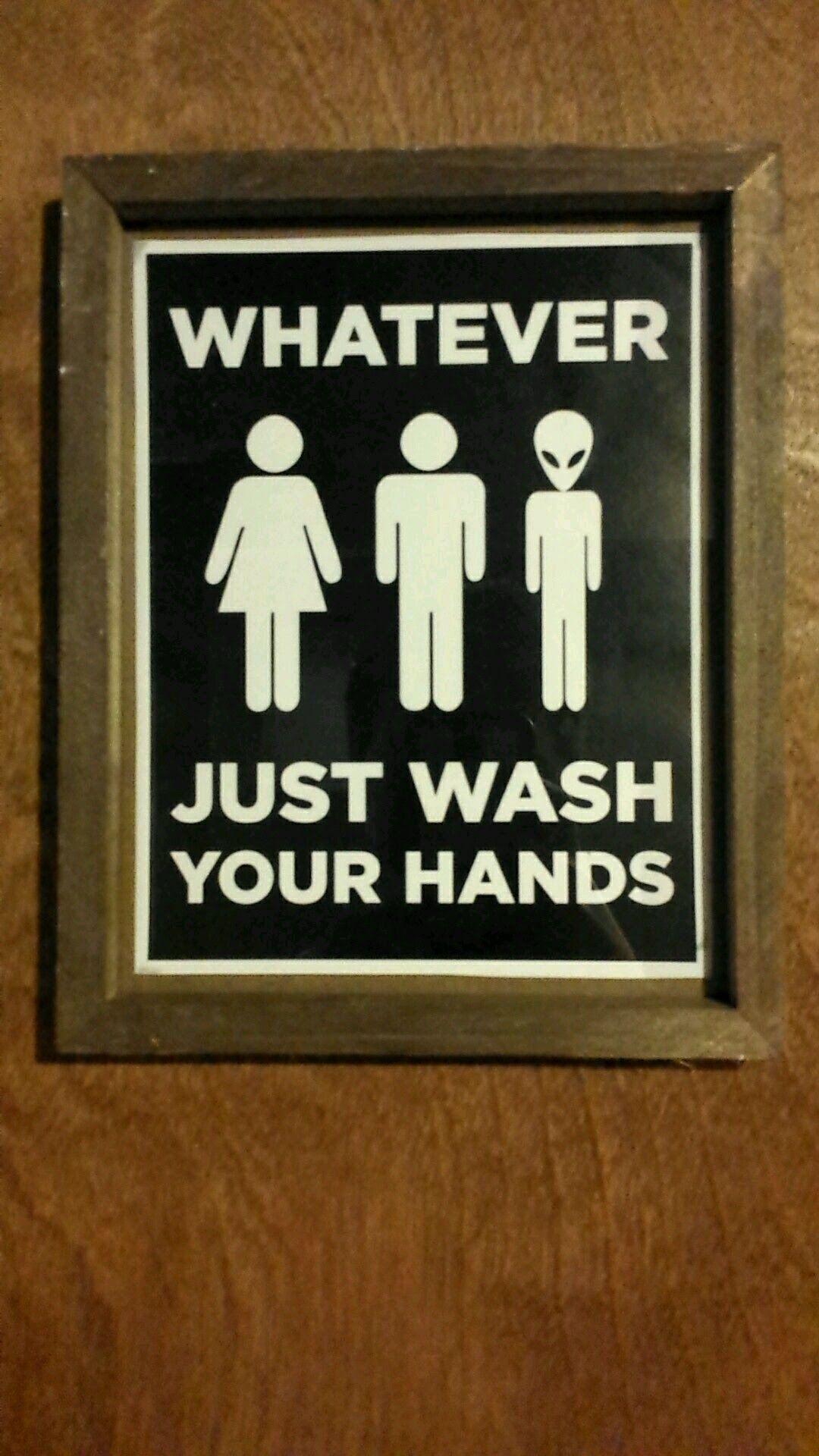 Gender Neutral Bathroom Sign Http Ift Tt 2pryvyk Kid Bathroom