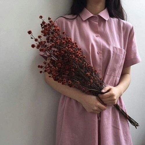 Pink Picnic Dress | Aestethic | Kpop | Korean Fashion ...