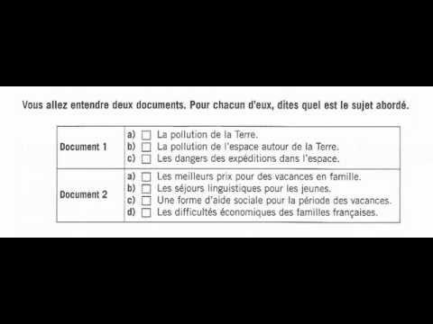 Compréhension De L Oral A2 Reussir Le Delf B1 Comprehension De L Oral 2 Comprehension
