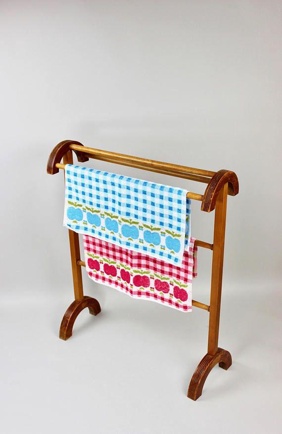 Antiker Stummer Diener, Vintage Kleiderständer, Handtuchhalter - handtuchhalter für küche