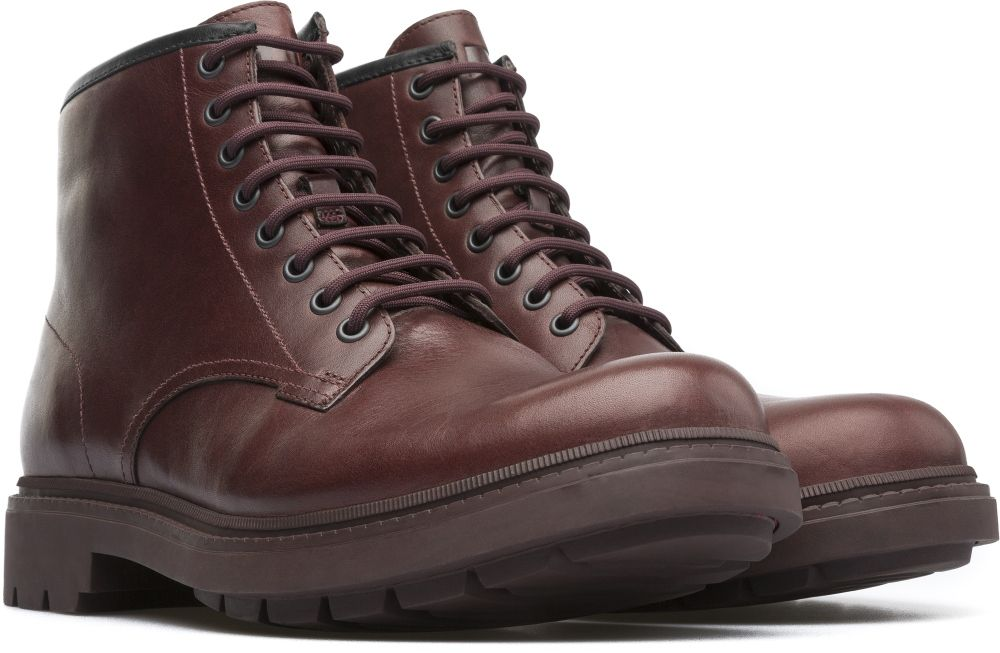 Camper Hardwood Rojo Botines Home K300090 001 | Boots