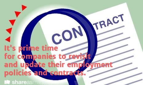 Take A Second Look At Your Employment Contracts  Hr
