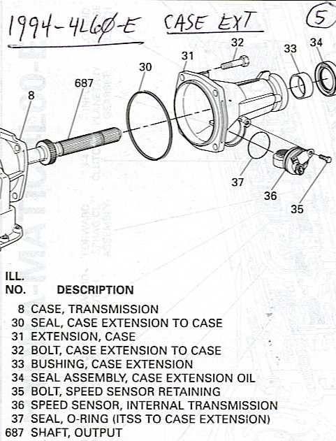4L60E4L65E Transmission Diagram   Truck Forum   Auto