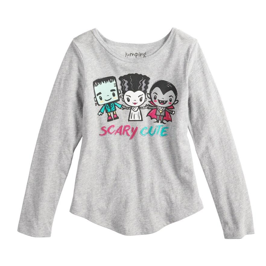 e92233c4 Girls 4-10 Jumping Beans® Little Monsters