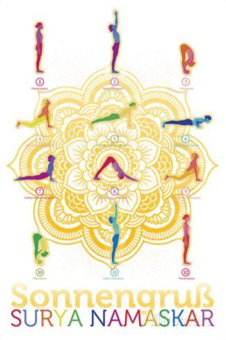 Yoga - sonnengruß Poster - AllPosters.co.uk   yoga   Pinterest ...