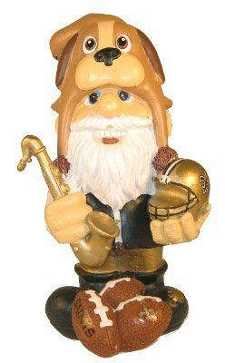 NFL New Orleans Saints Thematic Gnome - 2nd Version by Forever Collectibles. $19.99. Collectible. 100% POLYRESIN. New Orleans Saints. Officially Licensed. Hand-Crafted. Forever Collectibles offers a full line of 100% officially licensed team merchandise. We offer a complete line of home décor, garden décor, novelty, apparel, tech accessories and seasonal items.. Save 20%!