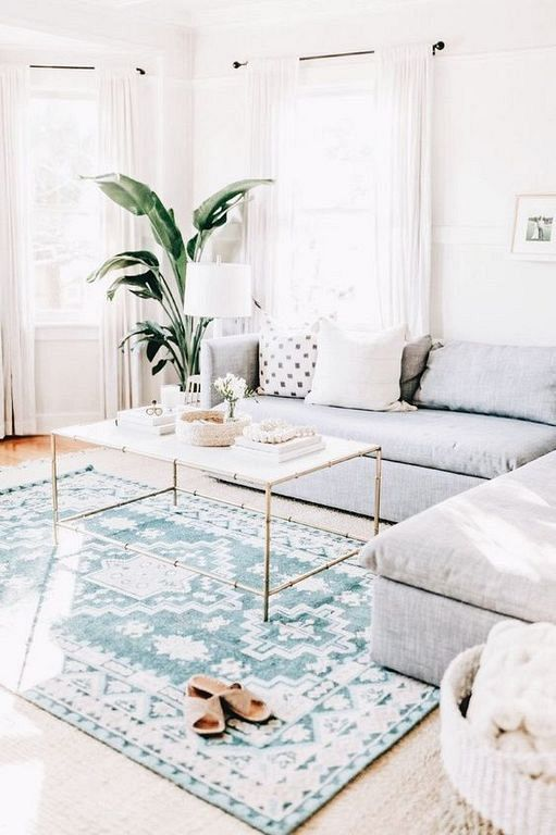 easy ways rooms so look more broadly only with rugs decoration in living room home decor also rh pinterest