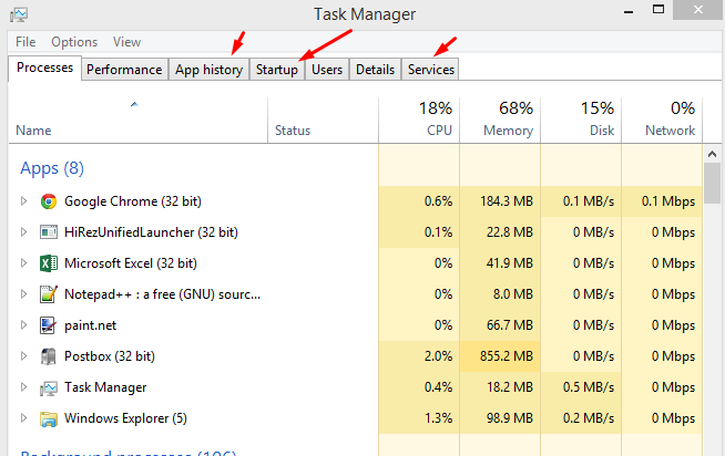 8 Ways to Start Task Manager in Windows 8.1 http://www.dragonblogger.com/8-ways-start-task-manager-windows-8-1/