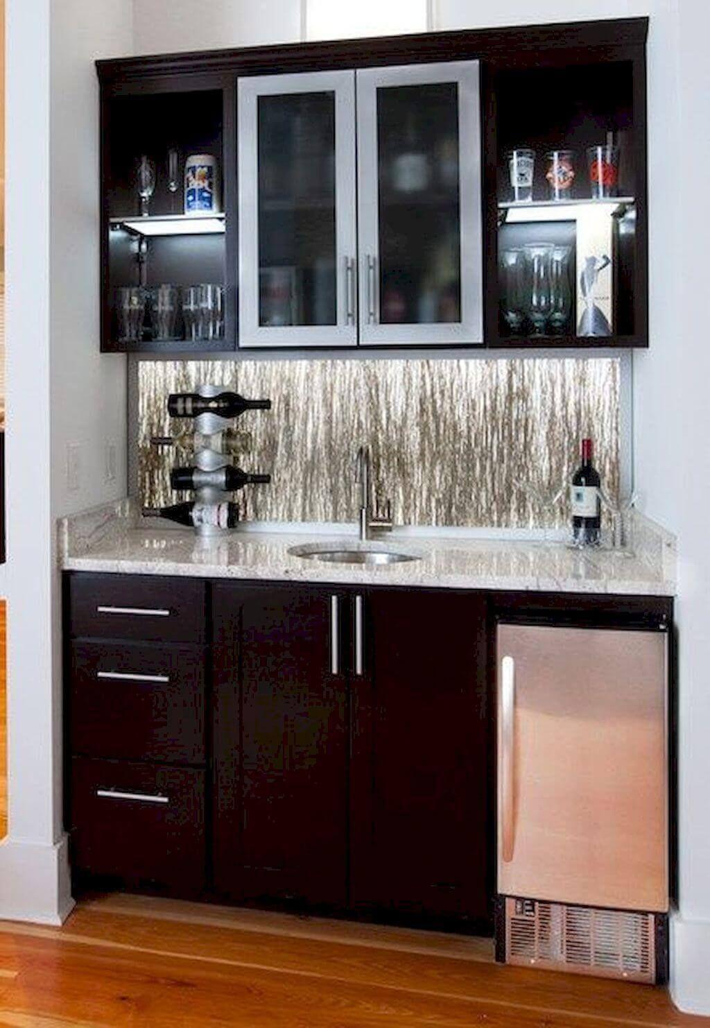 Wet Bar and Kitchen Mini Fridge Refrigerator Solutions   Home wet ...