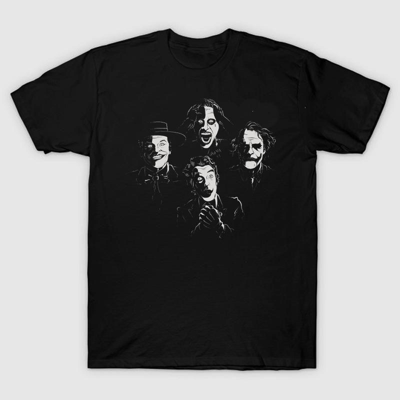 High-Q Unisex Batman The Dark Knight Joker cotton t-shirt tees Shirt punk rock Batman Joker loose Tees T-Shirt hip hop t shirt  #Affiliate