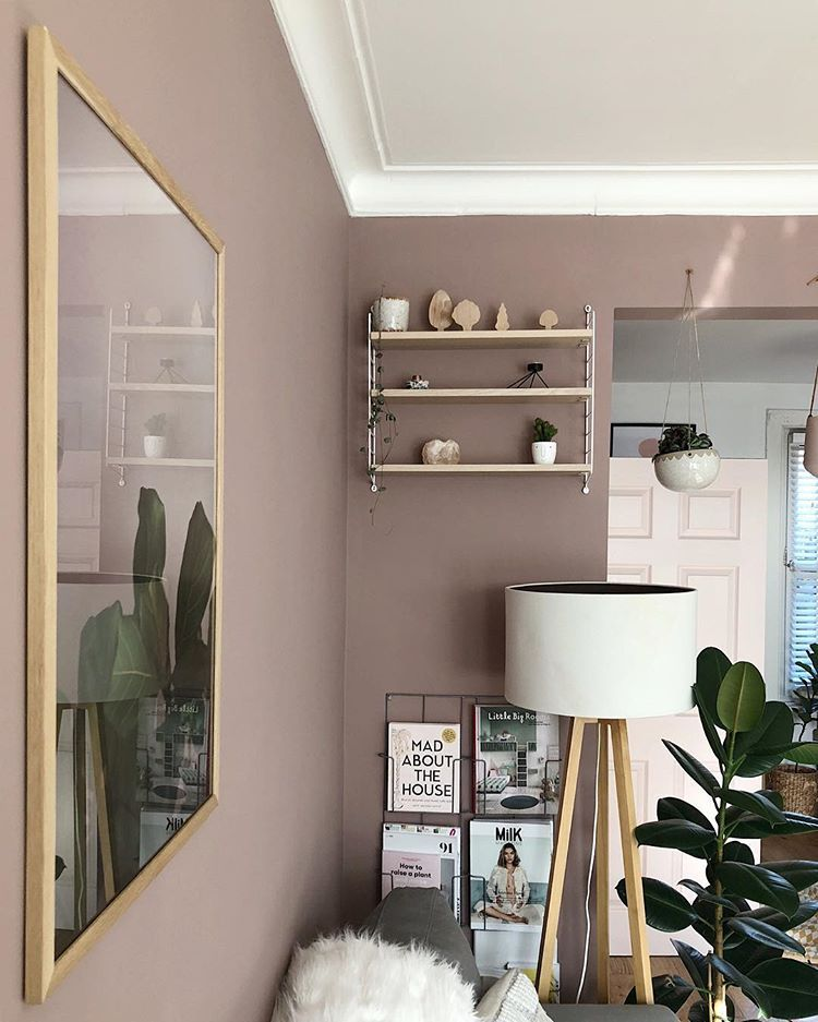 Sulking Room Pink Farrow And Ball Pink Dining Rooms Pink Living Room Farrow And Ball Bedroom