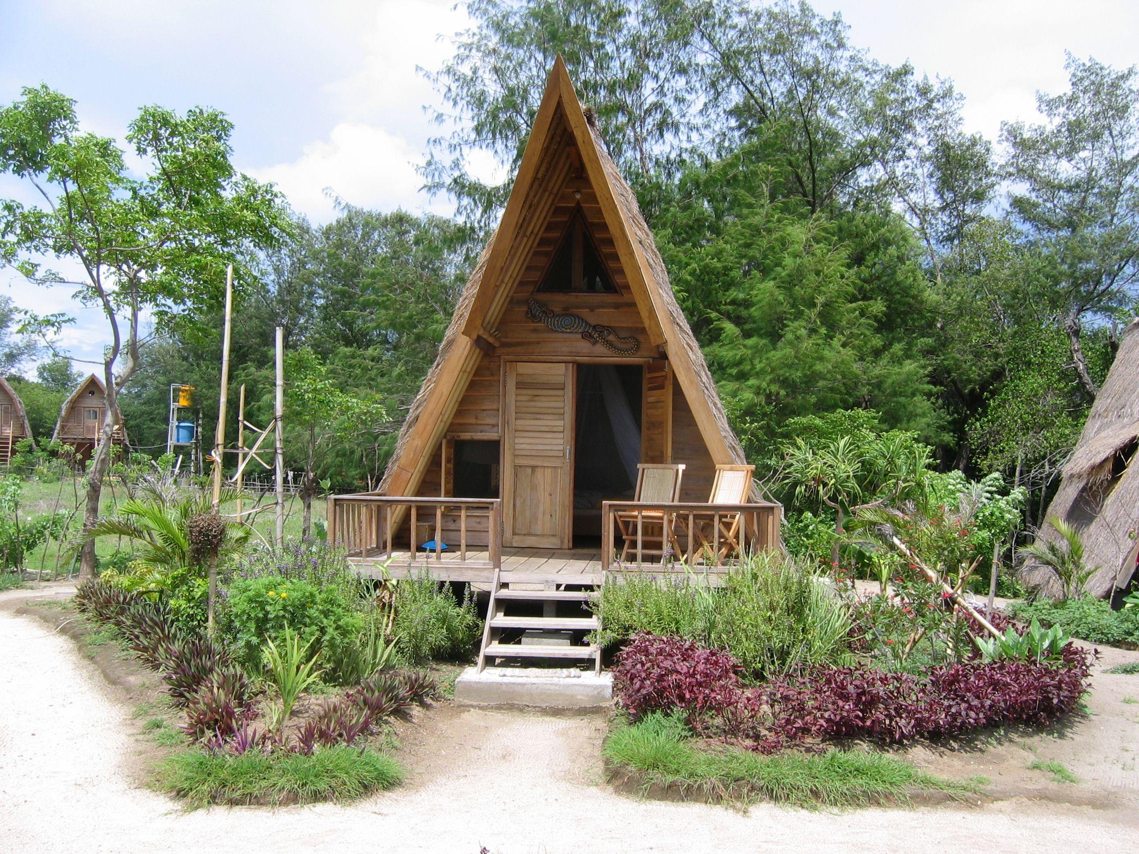 a frame bungalow | nicanica | Pinterest
