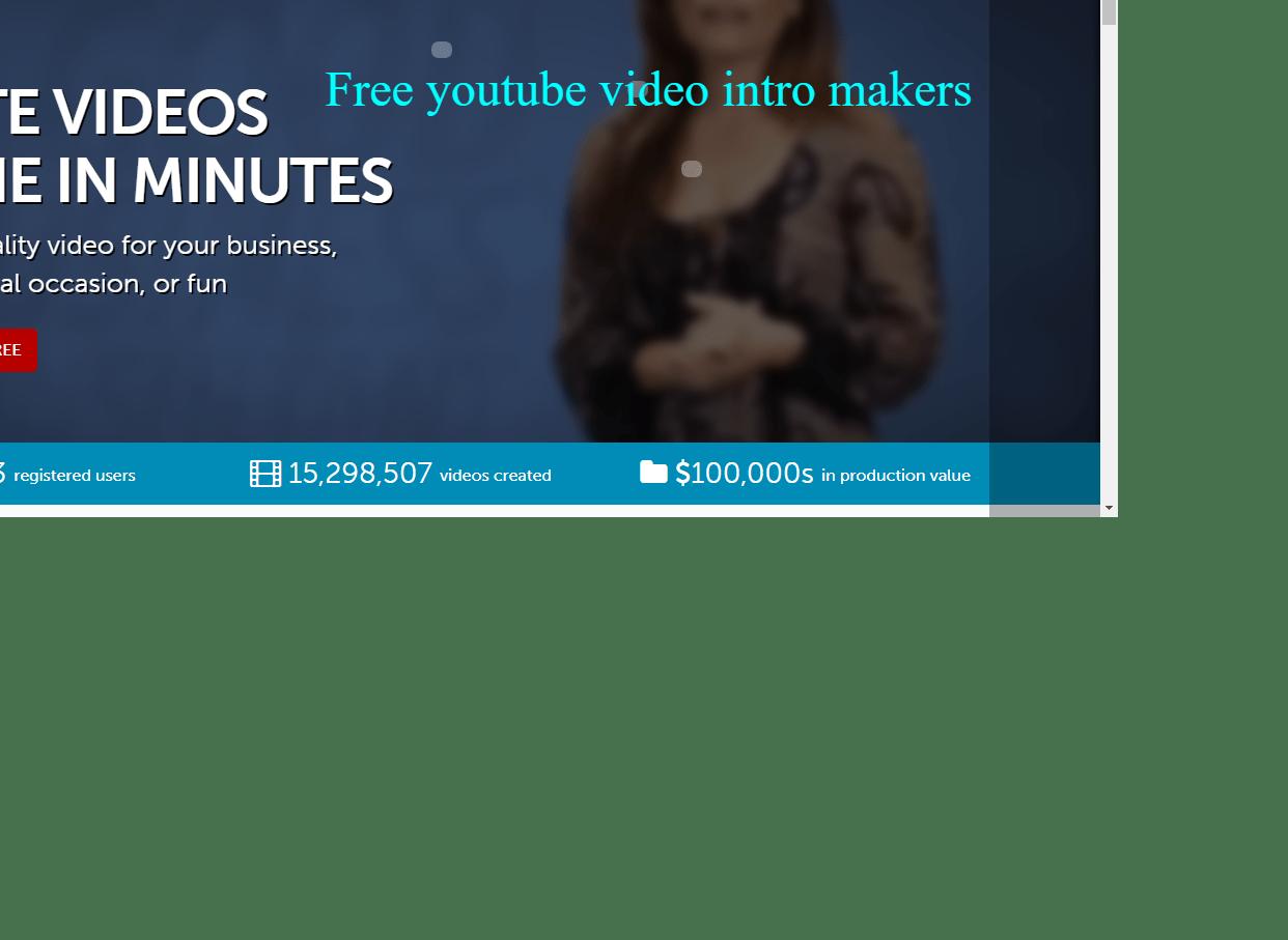 free intro maker no watermark Intro, Youtube, Free