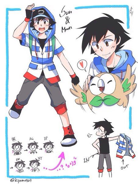 Ash Misty Pokeshipping Esh Misti Pokemon Vk Pokemon Sun