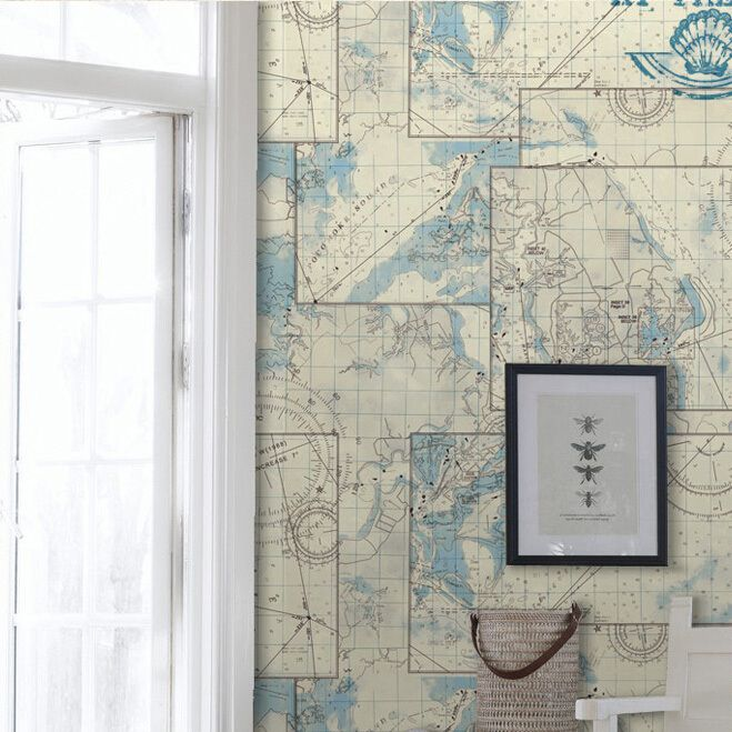 Find more wallpapers information about pvc washable nautical map find more wallpapers information about pvc washable nautical map vintage wallpaper world map for reading room wall decorative papel de paredehigh quality gumiabroncs Image collections