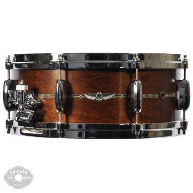 Tama 5.5x14 Star Maple Snare Drum Satin Antique Brown