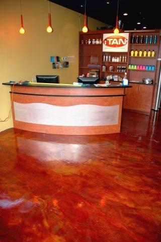 retail store epoxy floors Connecticut Flooring, Epoxy