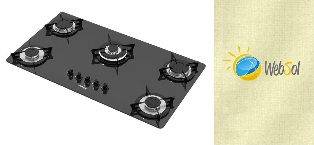 Cooktop NV5 90 TC Nardelli l Sofisticação, design e tecnologia de última geração na sua cozinha.