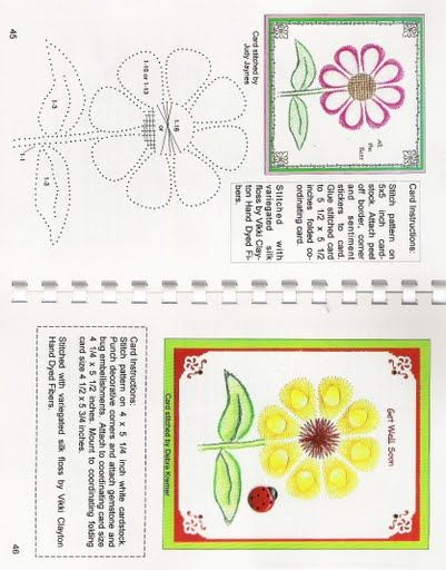 265a0c81cd01 Basic flower Paper Embroidery