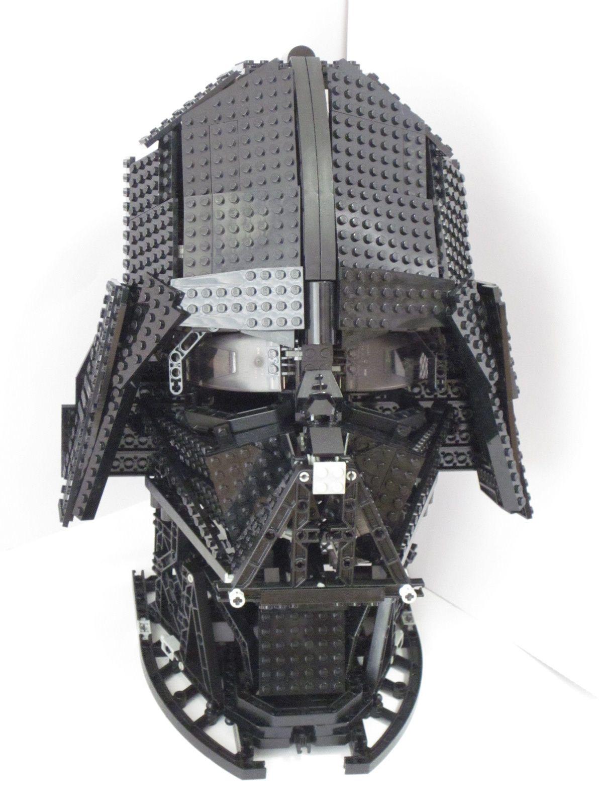 Darth Vader helmet (by Nb-Koh) #LEGO #StarWars