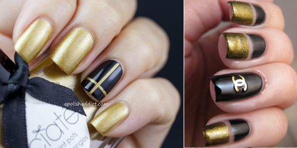 Impressive nails for prom appearances!