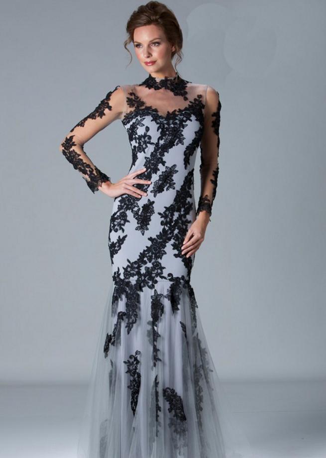 Long Sleeve Wedding Guest Dresses