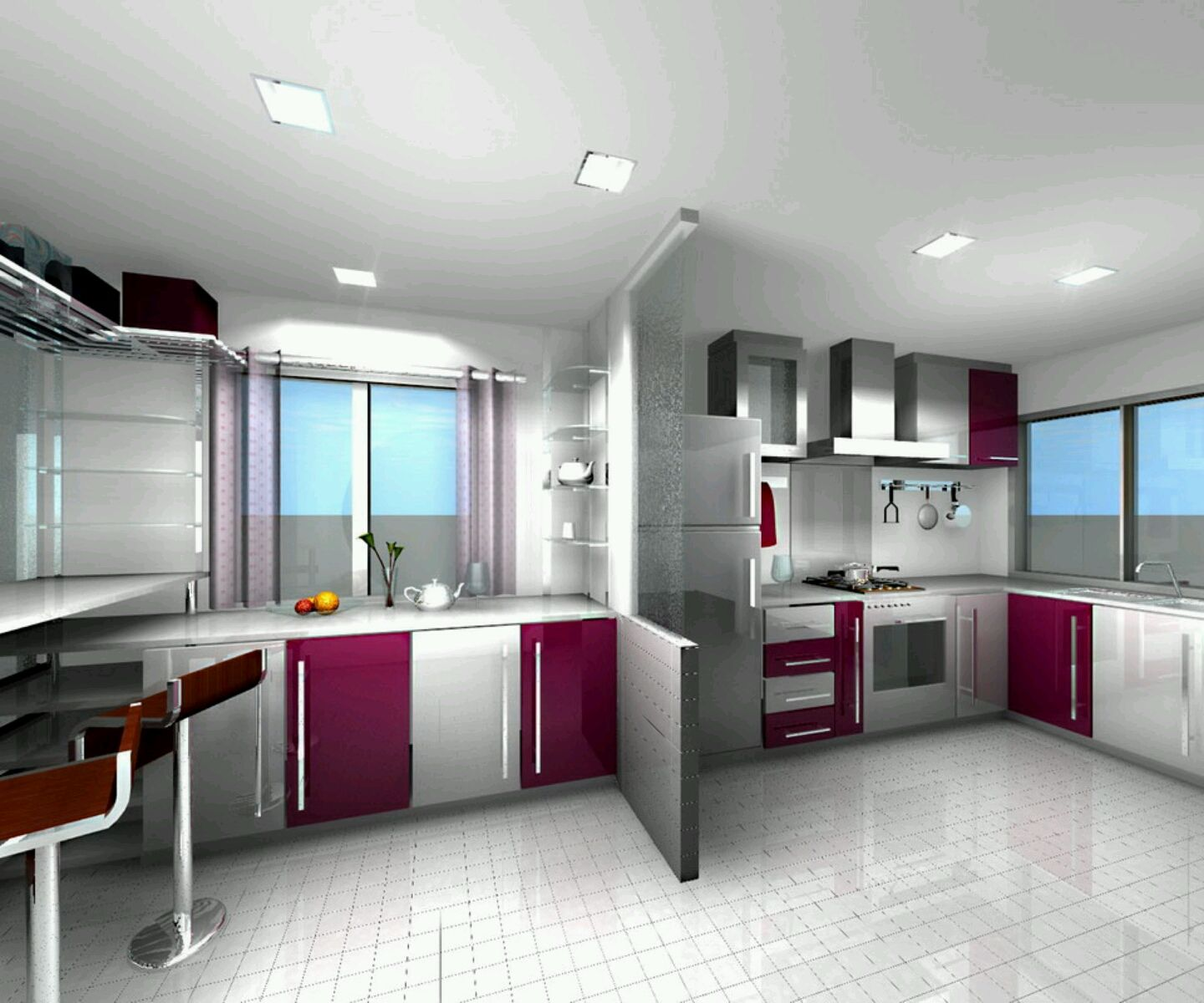 home designs latest modern homes ultra modern kitchen designs ideas