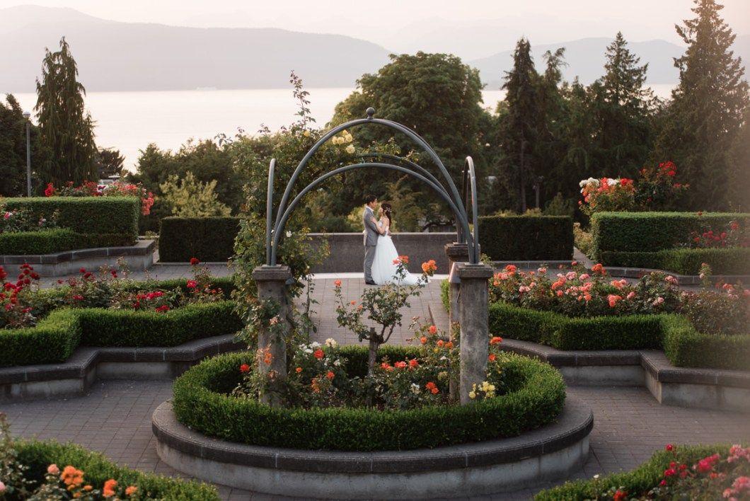 UBC Rose Garden wedding Keiko + Ben