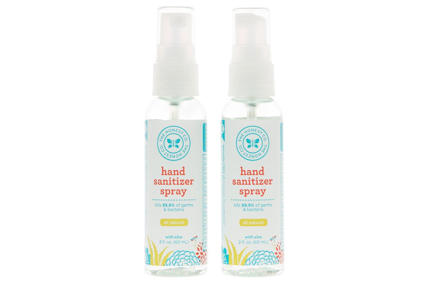The Honest Company Hand Sanitizer Spray Skin Deep Cosmetics