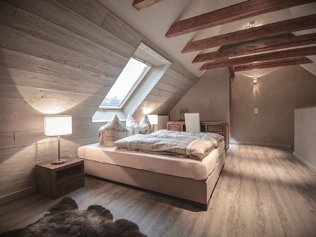 Schlafzimmer Designer Online 2 #21: Stadt Chalet Braunlage - Appartement 13 - Schlafzimmer 2