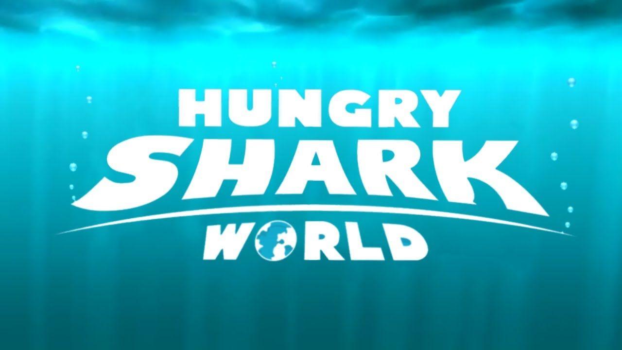 HUNGRY SHARK WORLD Gameplay World generator, Ios games