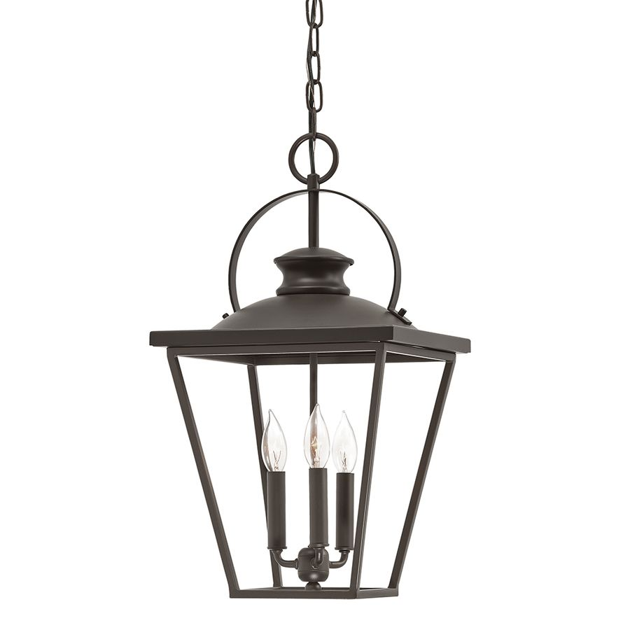 Shop Kichler Lighting Arena Cove 12.01 In W Olde Bronze Pendant Light With  Shade At
