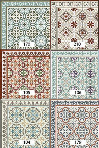 linoleum fliesen versandkostenfrei muster dekorative pvc vinyl matte robust 178 teppich ka 1 4 che preis
