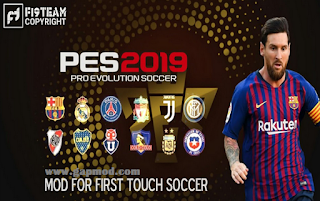 FTS 19 Mod PES 2019 Apk Data Obb by M Pro Gaming Download