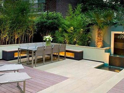 Jardines modernos jardines pinterest jard n for Jardines modernos