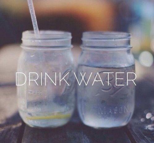 Drink Water Typespiration Pinterest