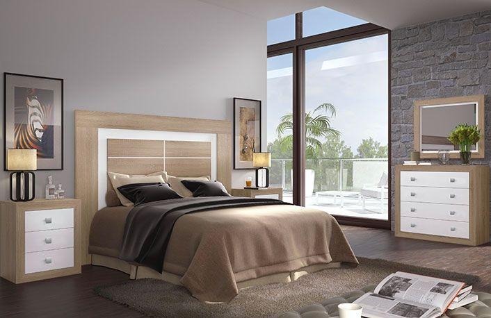 Dormitorio matrimonio cambrian con comoda bedroom dormitorio de matrimonio muebles dormitorios - Muebles boom dormitorios ...