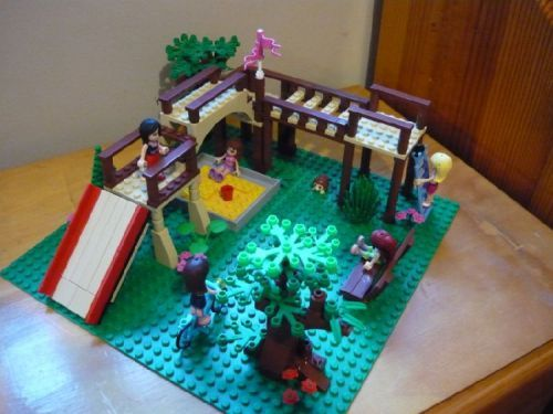 Lego Friends Playground A Lego Creation By Brad Mocpages