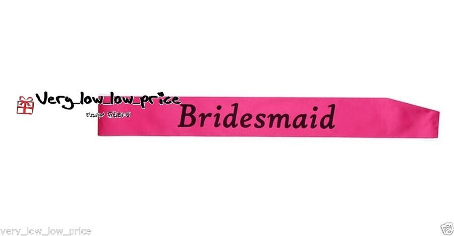 Girls Night Out Accessory Pink Wedding Sash Do 12 Pink Hen Party Sashes