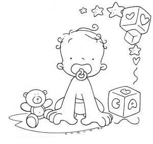 Riscos Desenhos Pintura Fraldas Quarto Bebe 2 Dibujos