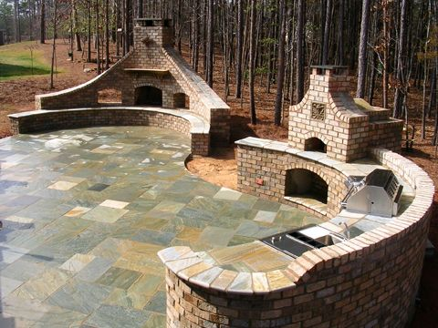 Top 25 ideas about Home decor – Outdoor Kitchen with Pizza Oven