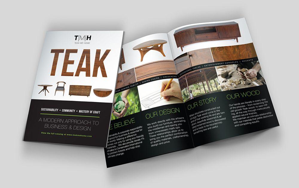 Design Teak Me Home Brochure Design