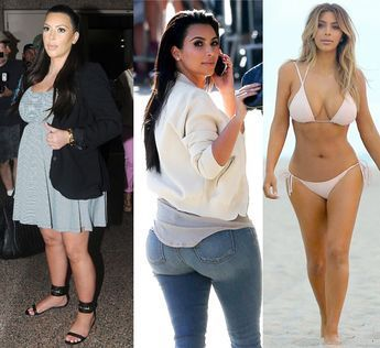 Kim Kardashian Loose Weight After Having Baby What S Diet And
