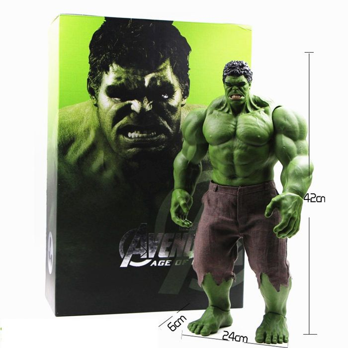 Huge Size 42CM 16inch Hulk Marvel Figure Avengers Action Legends Super Hero Toy