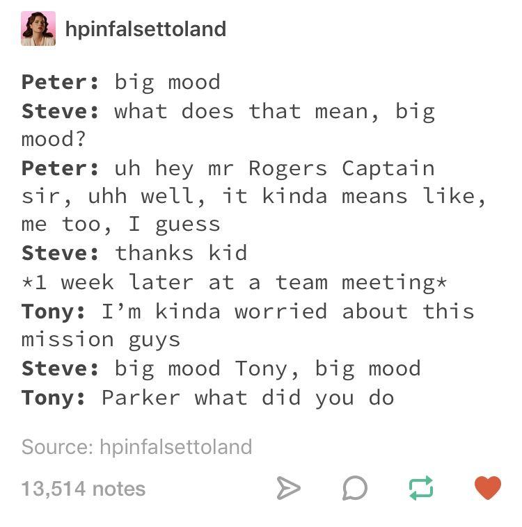 Peter parker teaching steve rogers slang  Spiderman, captain america