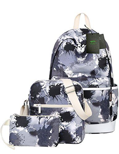 9036bbc811 Mygreen Artistic Paint School Bag Backpack Cute Lightweight Teen Girls Backpacks  School Shoulder Bags Laptop Bookbags     You can get additional details at  ...